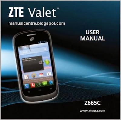 ZTE Valet Manual Cover
