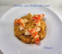 Risotto con frutos del Mar