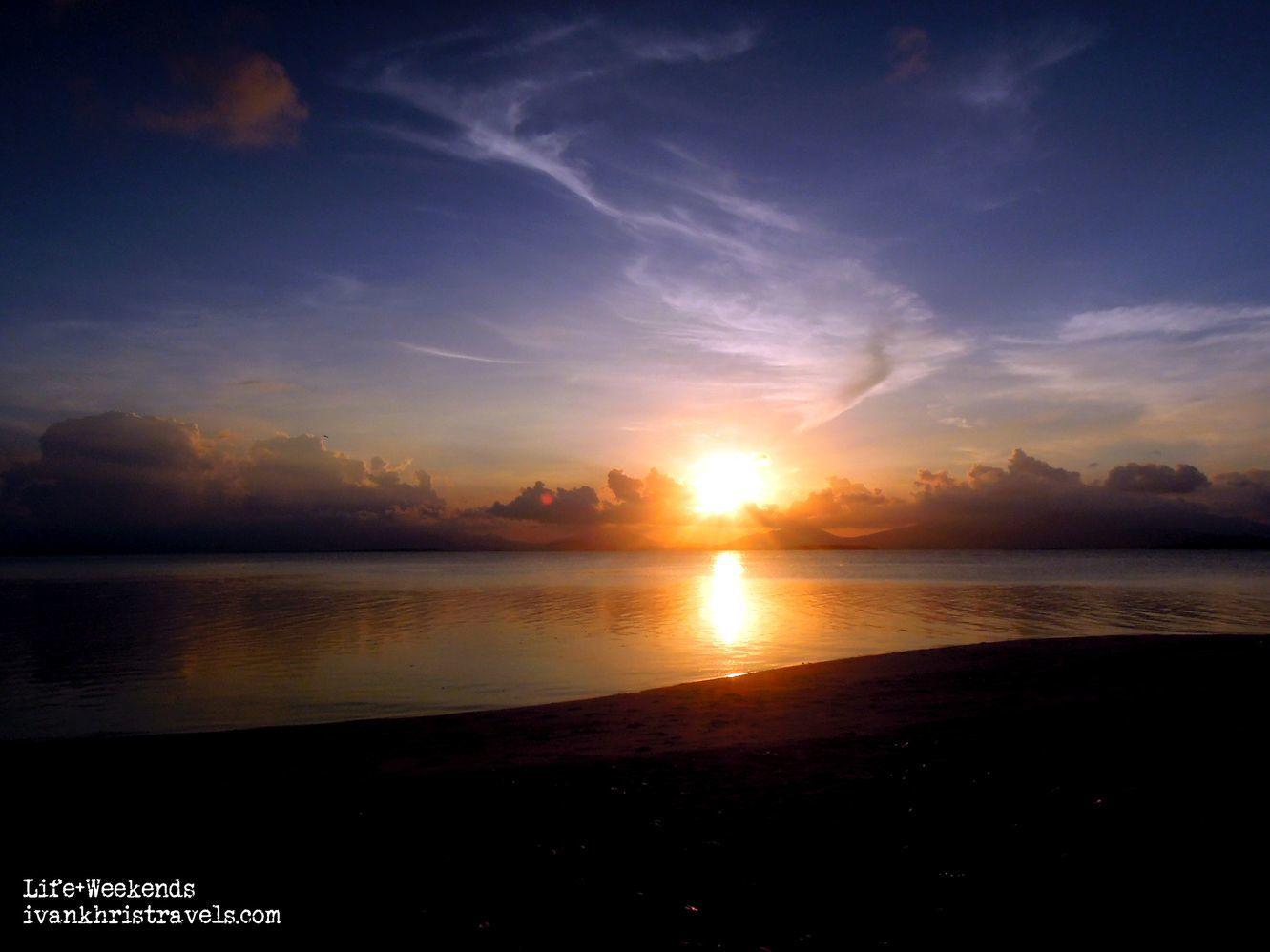 Sunset at Dos Palmas Island Resort and Spa