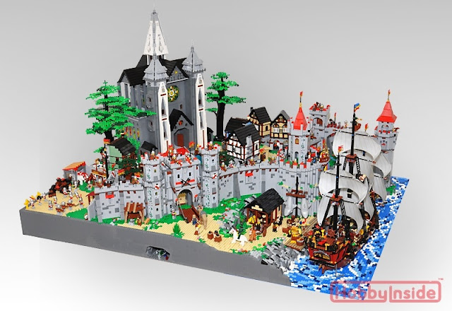 Netherbrick: Beautiful Castle diorama!