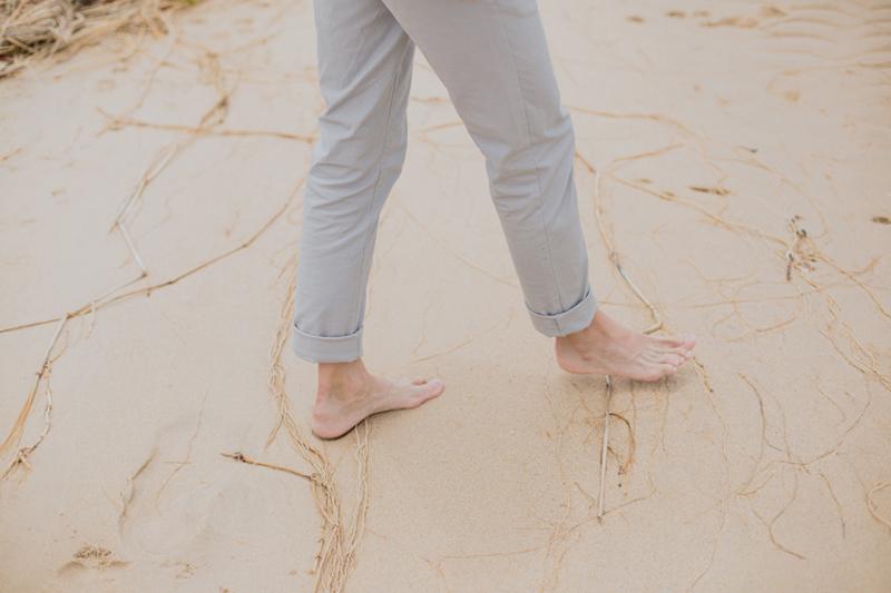 barefoot groom