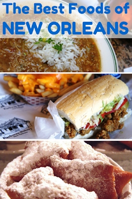 Travel the World: 15 traditional foods you must eat when traveling to New Orleans.