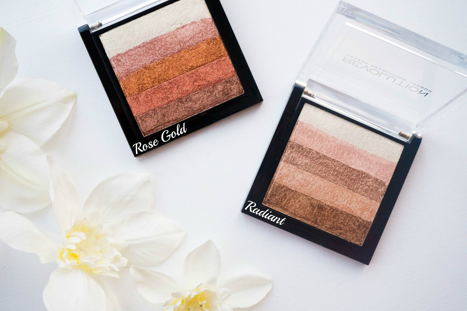 Makeup Revolution Shimmer Brick Rose Gold, Radiant