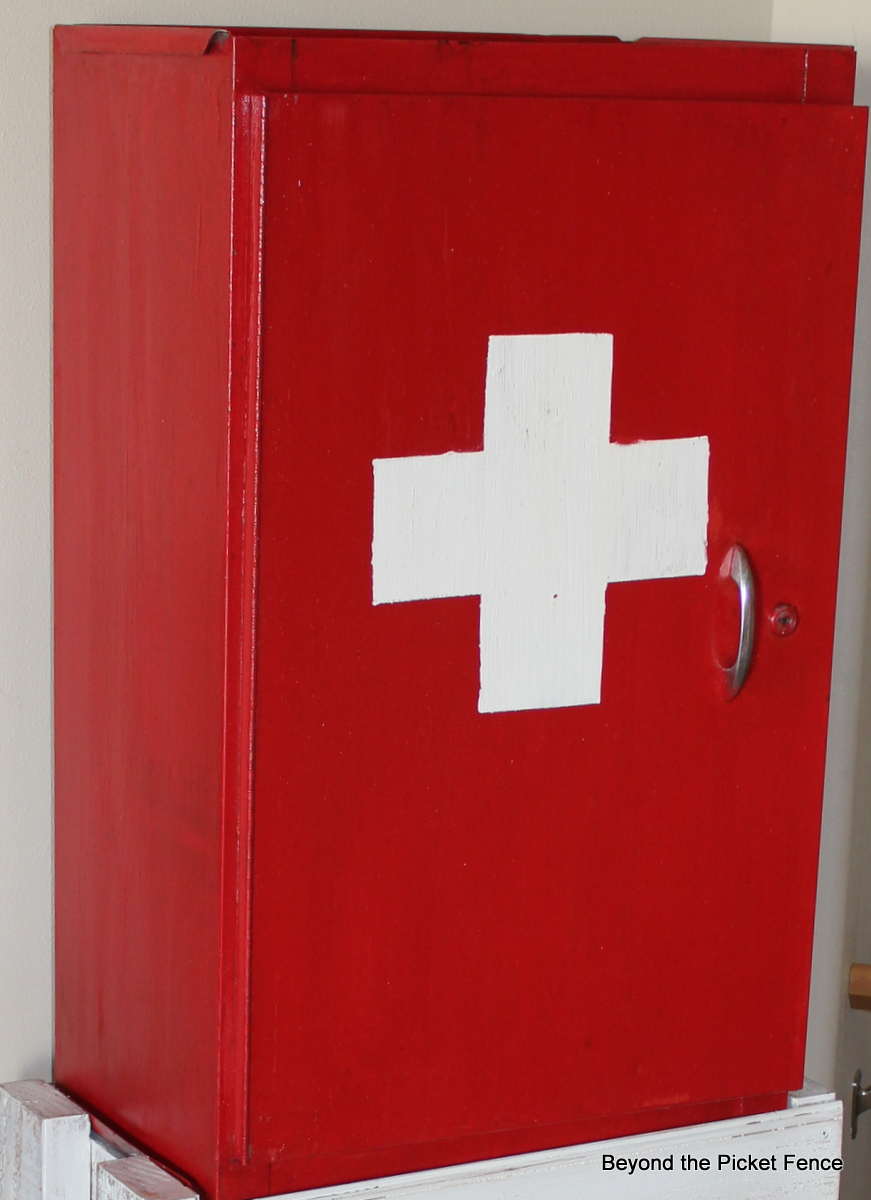 Beyond The Picket Fence: Cabinet First Aid
