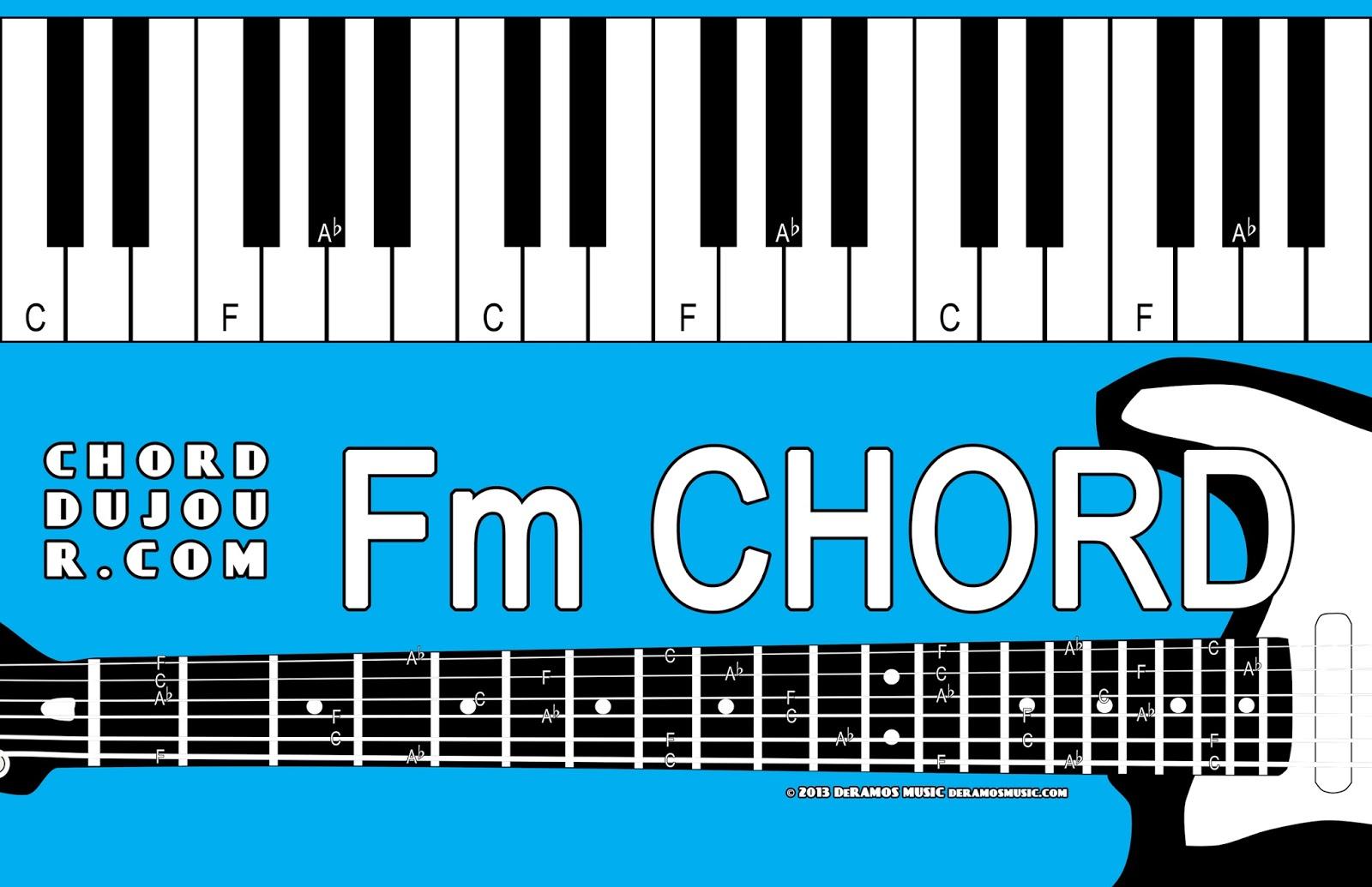 Chord du Jour Dictionary Fm Chord