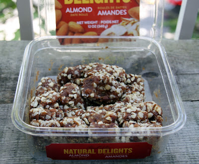 Natural Delights almond date rolls