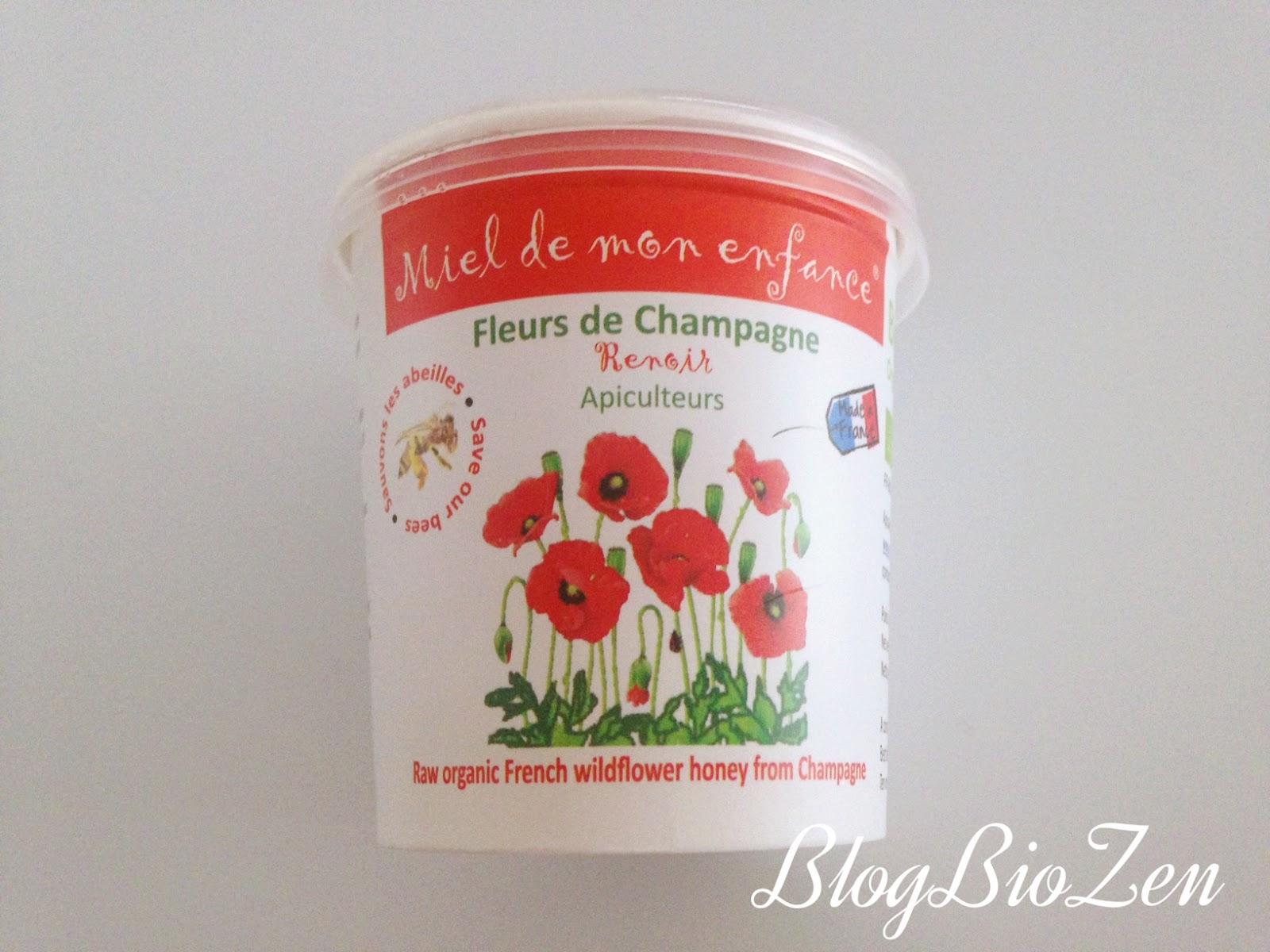 Miel Fleurs De Champagne Bio Miel De Mon Enfance