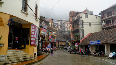 View of Sapa town centre