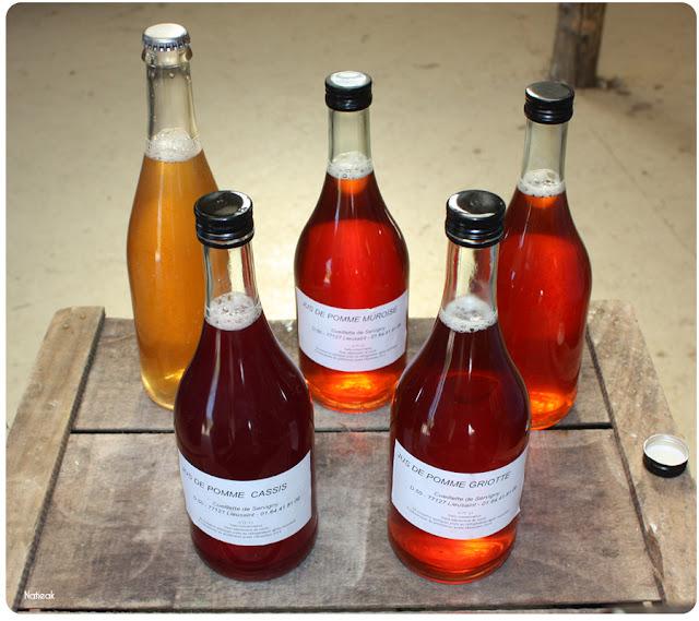 jus de pommes ferme de la ferme de Servigny