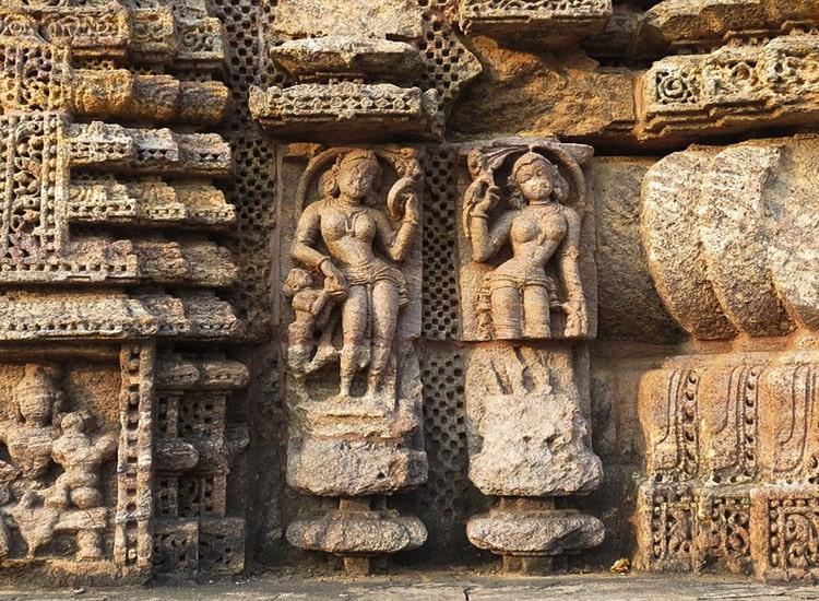 Konark_Sun_Temple-stone-art - Konark Sun Temple Photo - Konark Sun temple History