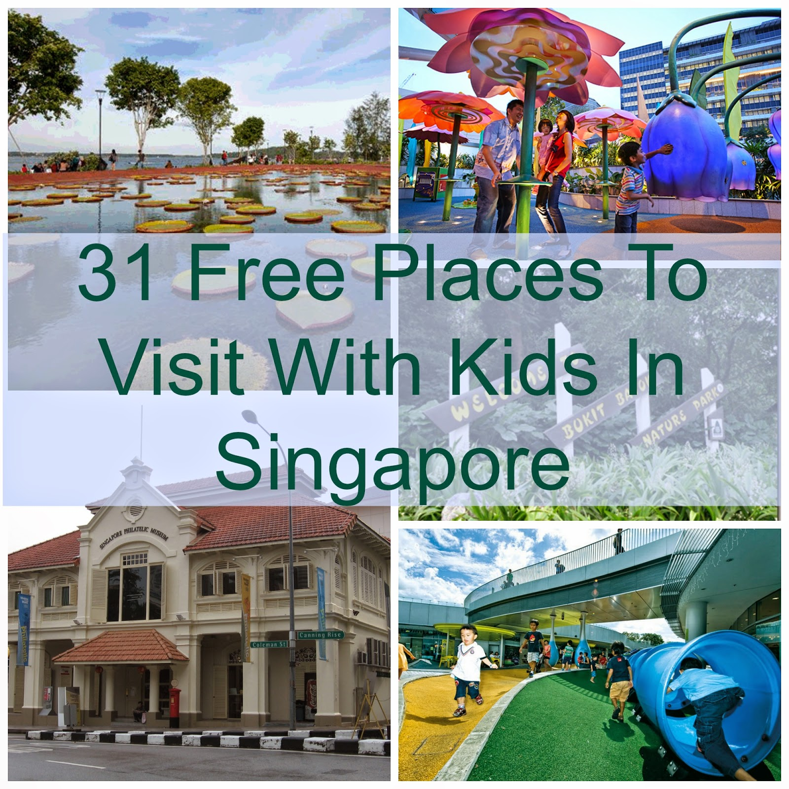 free places to take kids in Singapore