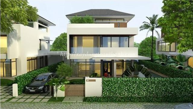 nhận thi công xây dựng nhà ở