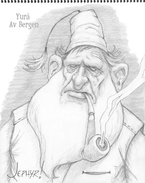 """""""Yura Av Bergen"""" - Copyright 2017 - Jephyr - All Rights Reserved"""