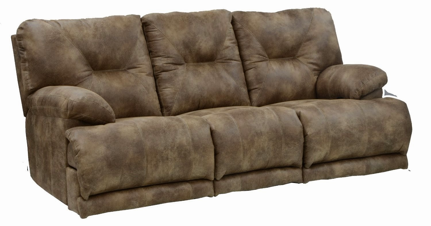 Cheap Recliner Sofas For Sale: Triple Reclining Sofa Fabric