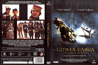Carátula: La última carga (1968) The Charge of the Light Brigade