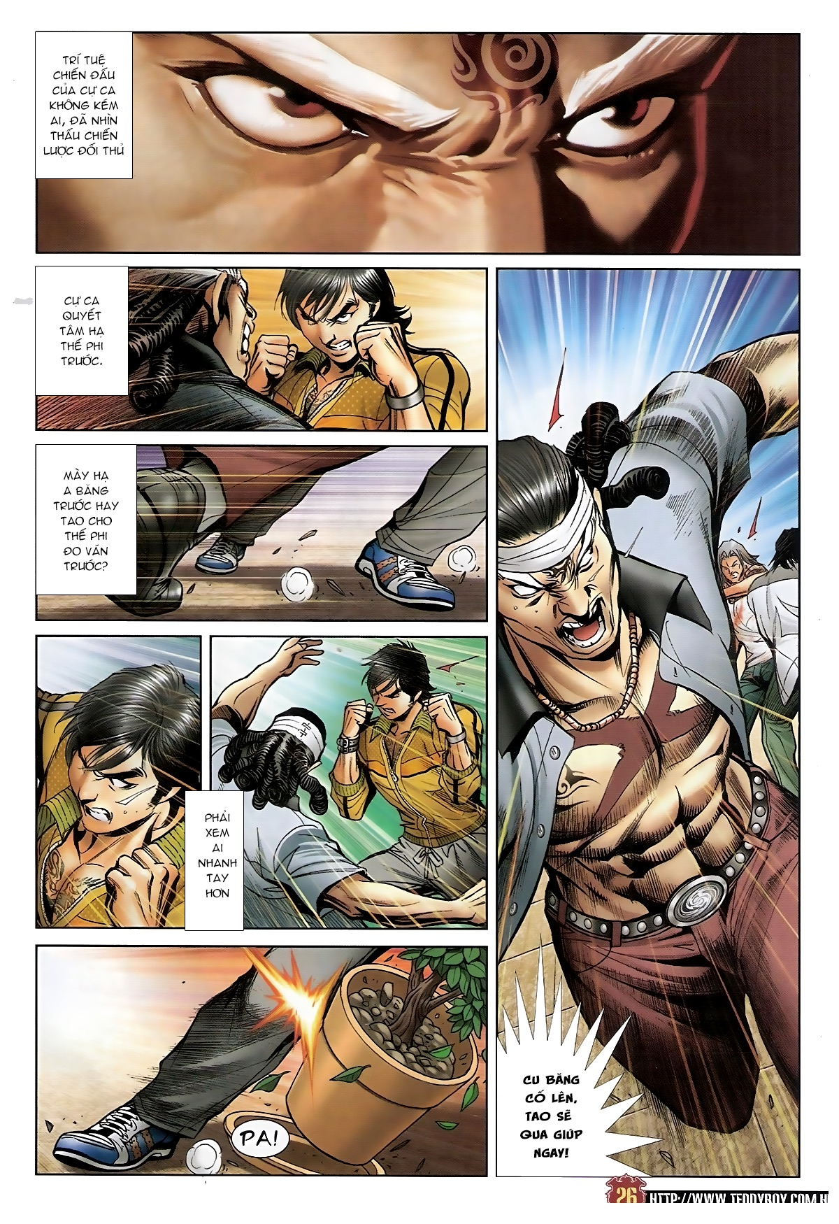 Người Trong Giang Hồ - Chapter 1552: Long Uy - Pic 24