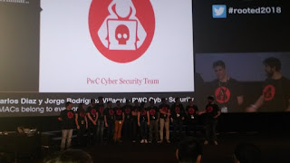 RootedCon 2018 - Todo el equipo de PwC - All your MACs belong to everyone