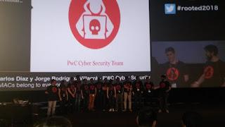 RootedCon 2018 - Todo el equipo de PwC - All your MACs belong to everyone