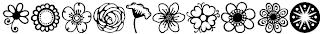 Download font Nature (alam) keren 7