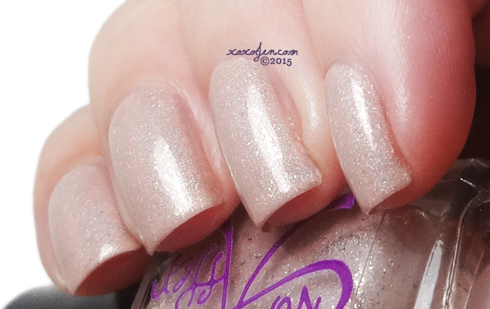xoxoJen's swatch of Ever After Nudist