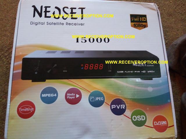 NEOSET 15000 HD RECEIVER DUMP FILE