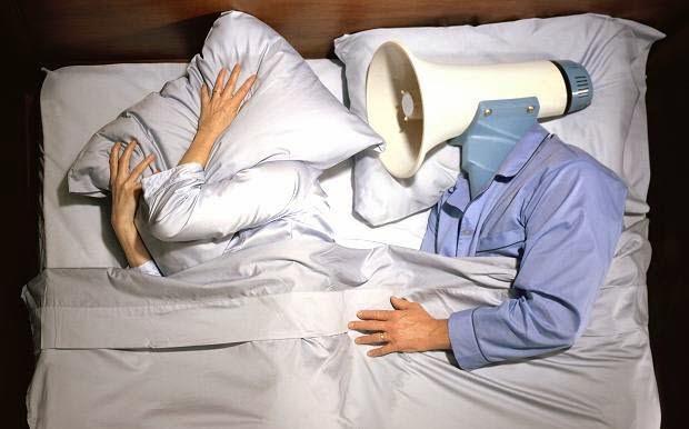 10 طرق للعلاج الشخير اثناء النوم