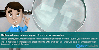 Energy companies letting down SMEs