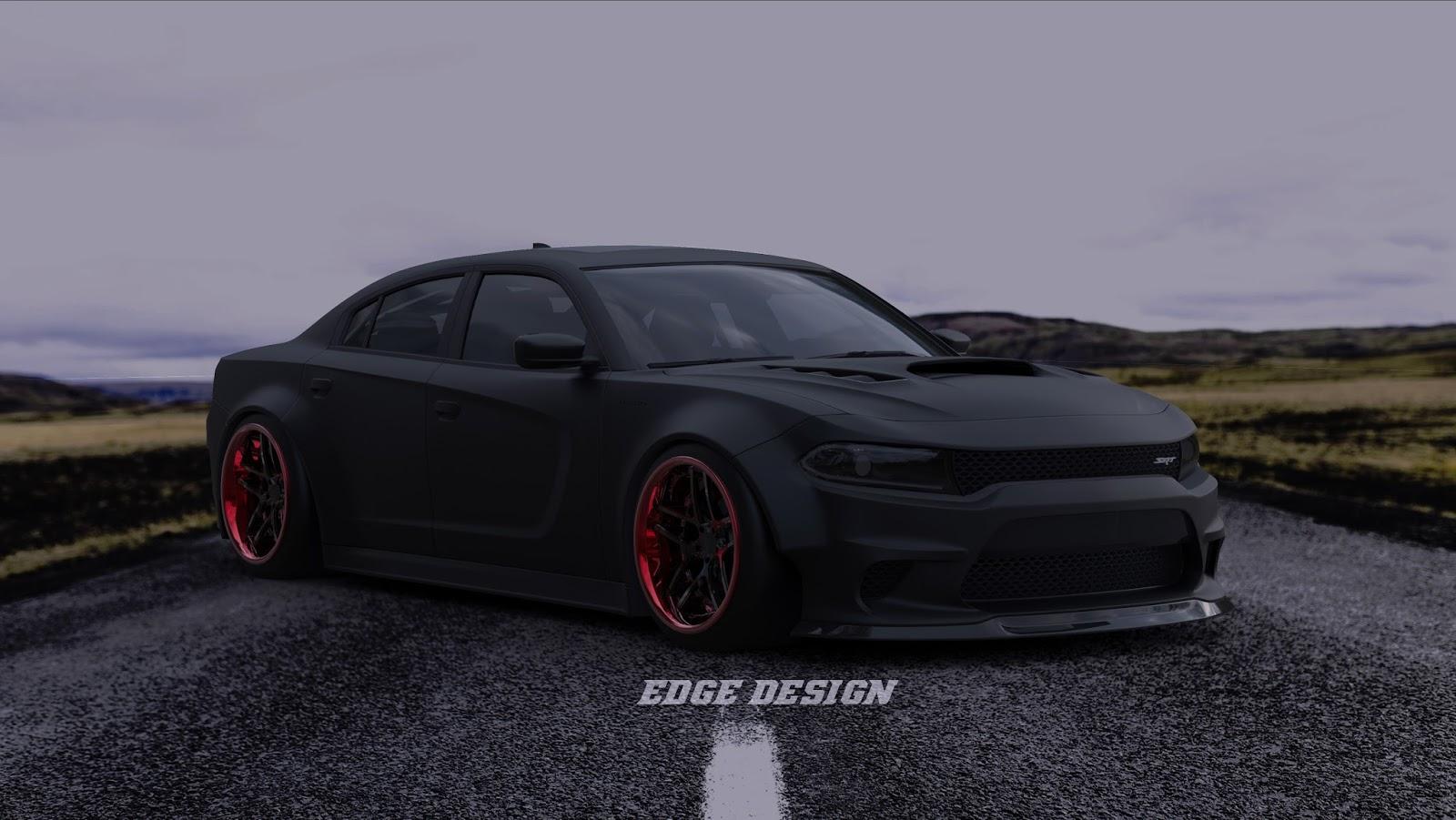 2015 Dodge Charger Srt Hellcat Widebody Kit Design Turbo90 Blog