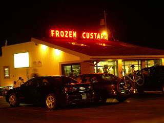 Gilles frozen custard Milwaukee