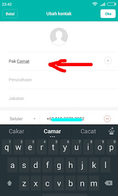 cara buat screen shot percakapan whatsapp