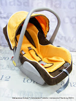 Infant Car Seat Pliko PK02 Carrier New Born-13kg  Orange Brown