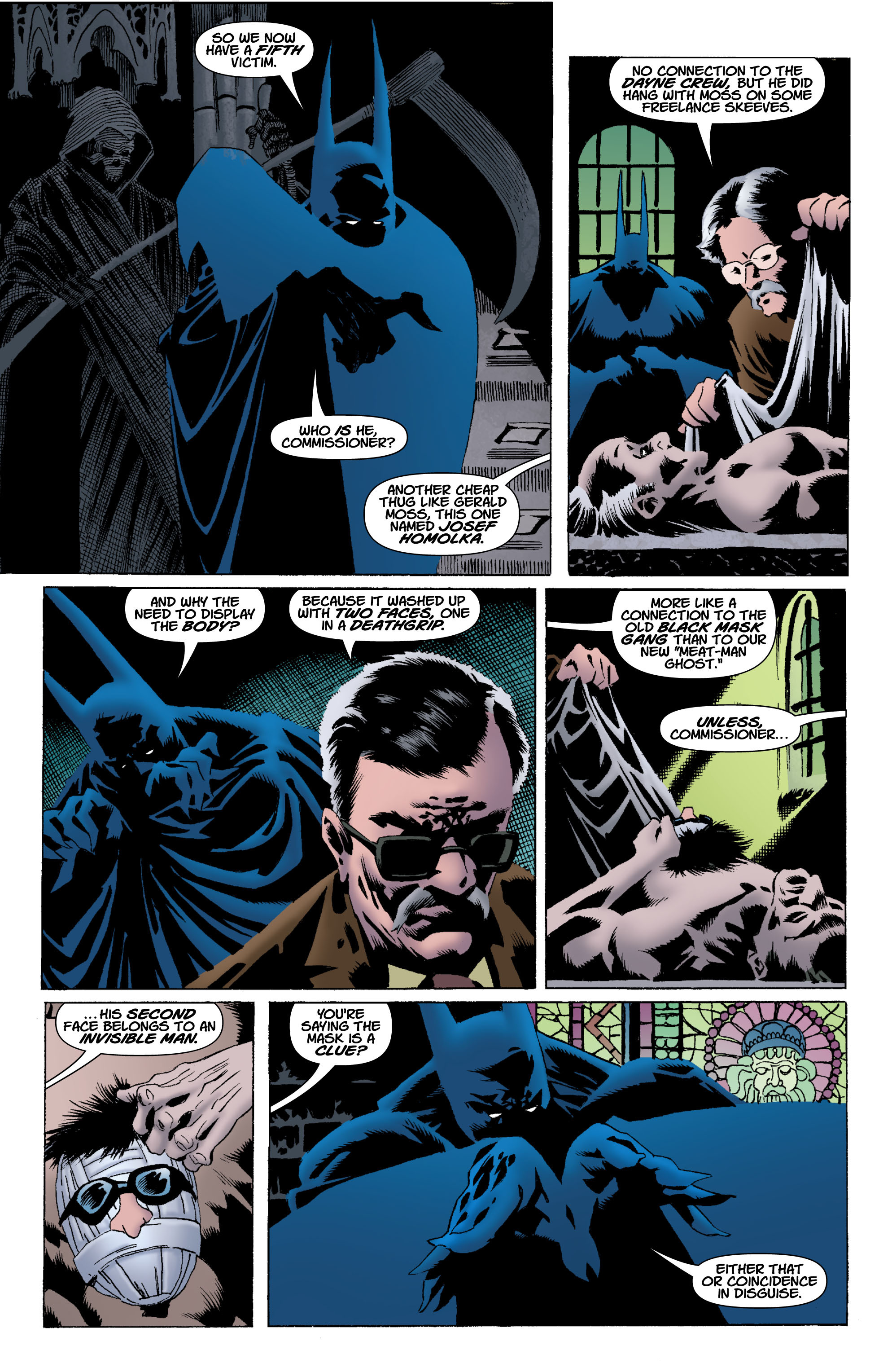 Read online Batman: Unseen comic -  Issue #4 - 4