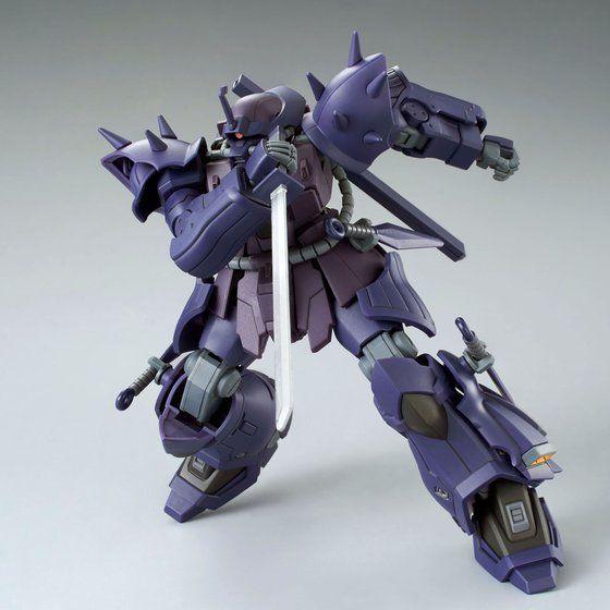 P-Bandai: HGUC 1/144 MS-08TX/N Efreet Nacht cold blade pose