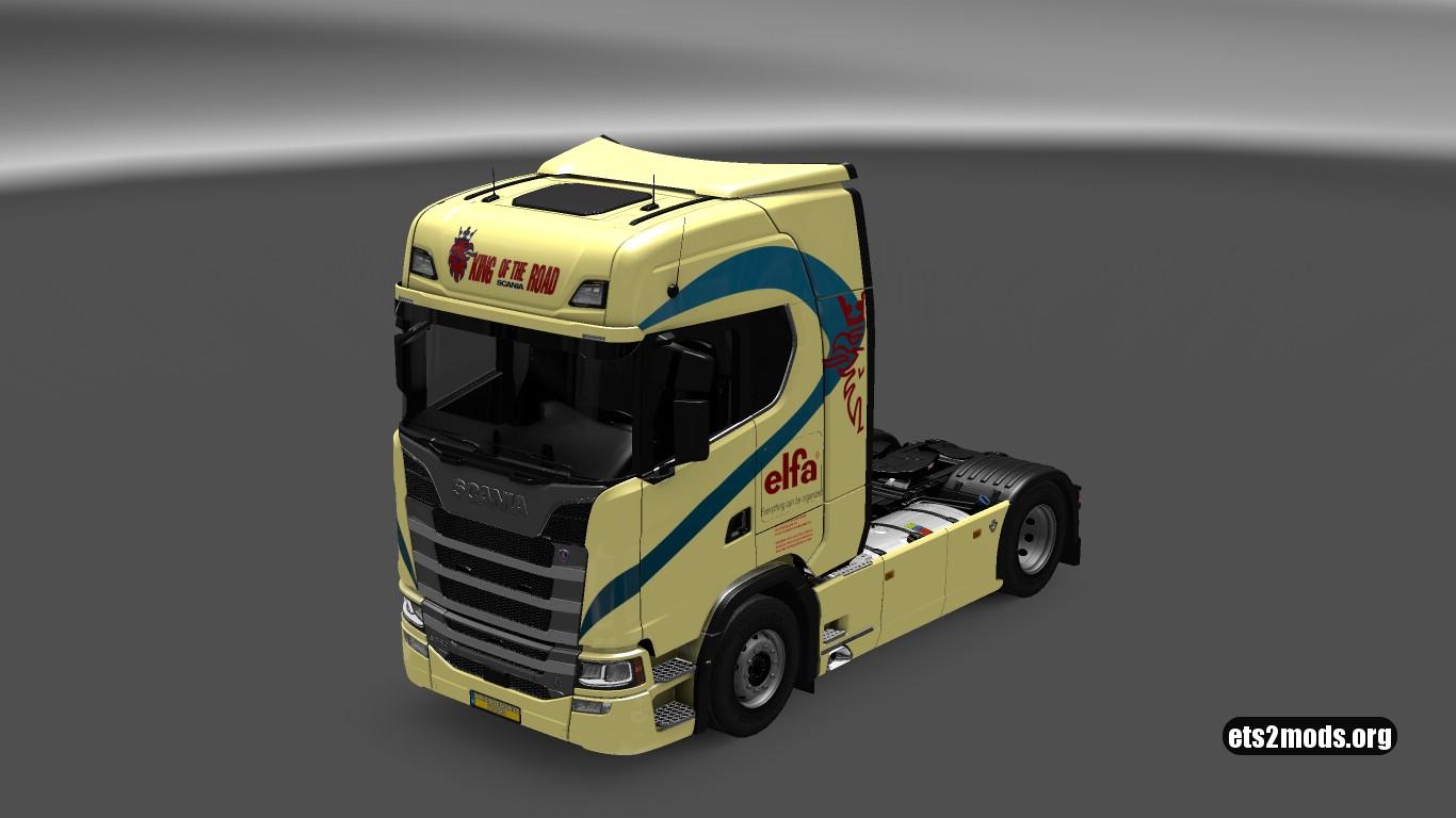 Series Elfa Skin for Scania S