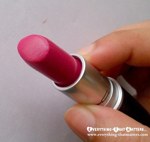 MAC+GirlAboutTown+Lipstick+Swatch+Review+LOTD