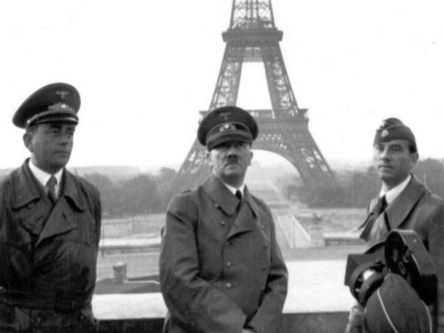 Adolf Hitler Paris'te