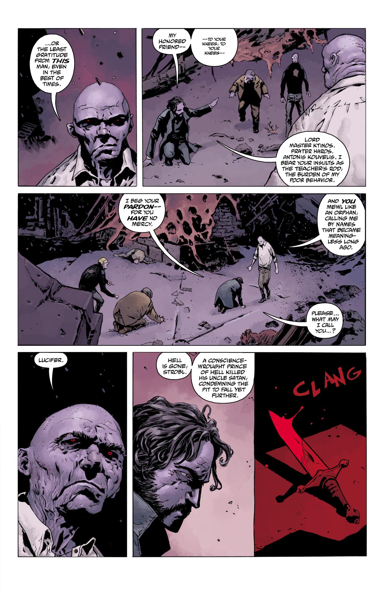 Read online Abe Sapien comic -  Issue #11 - 18