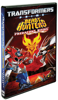 Transformers Prime: Beast Hunters - Predacons Rising DVD Giveaway