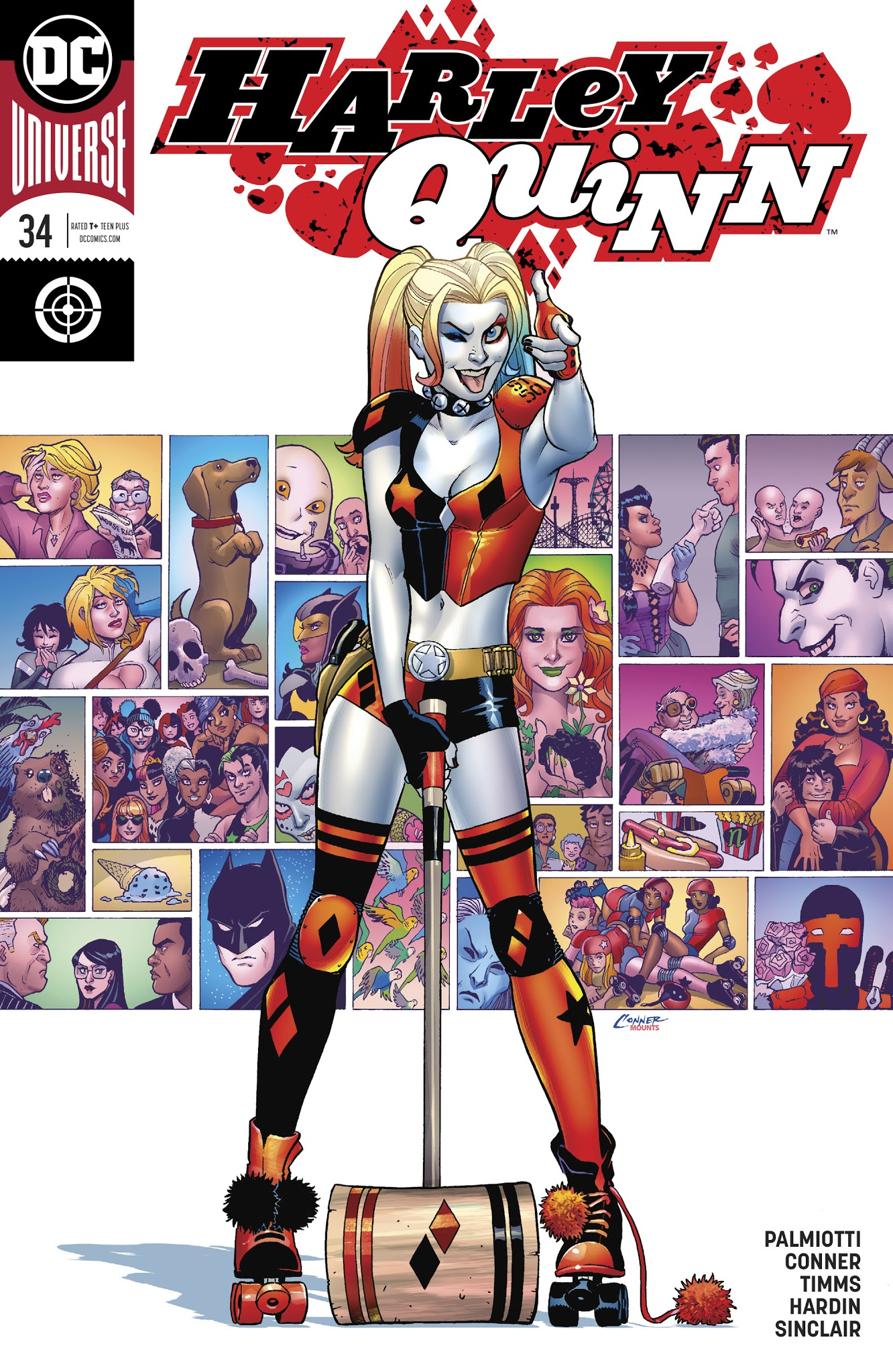 Harley Quinn (2016) 34 Page 1