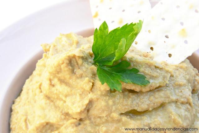 Cómo preparar hummus de lentejas