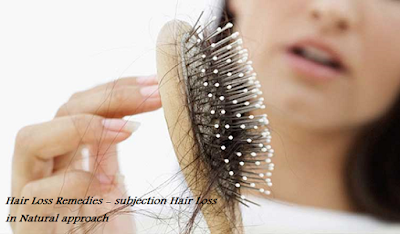 Hair Loss Remedies - subjection Hair Loss in Natural approach