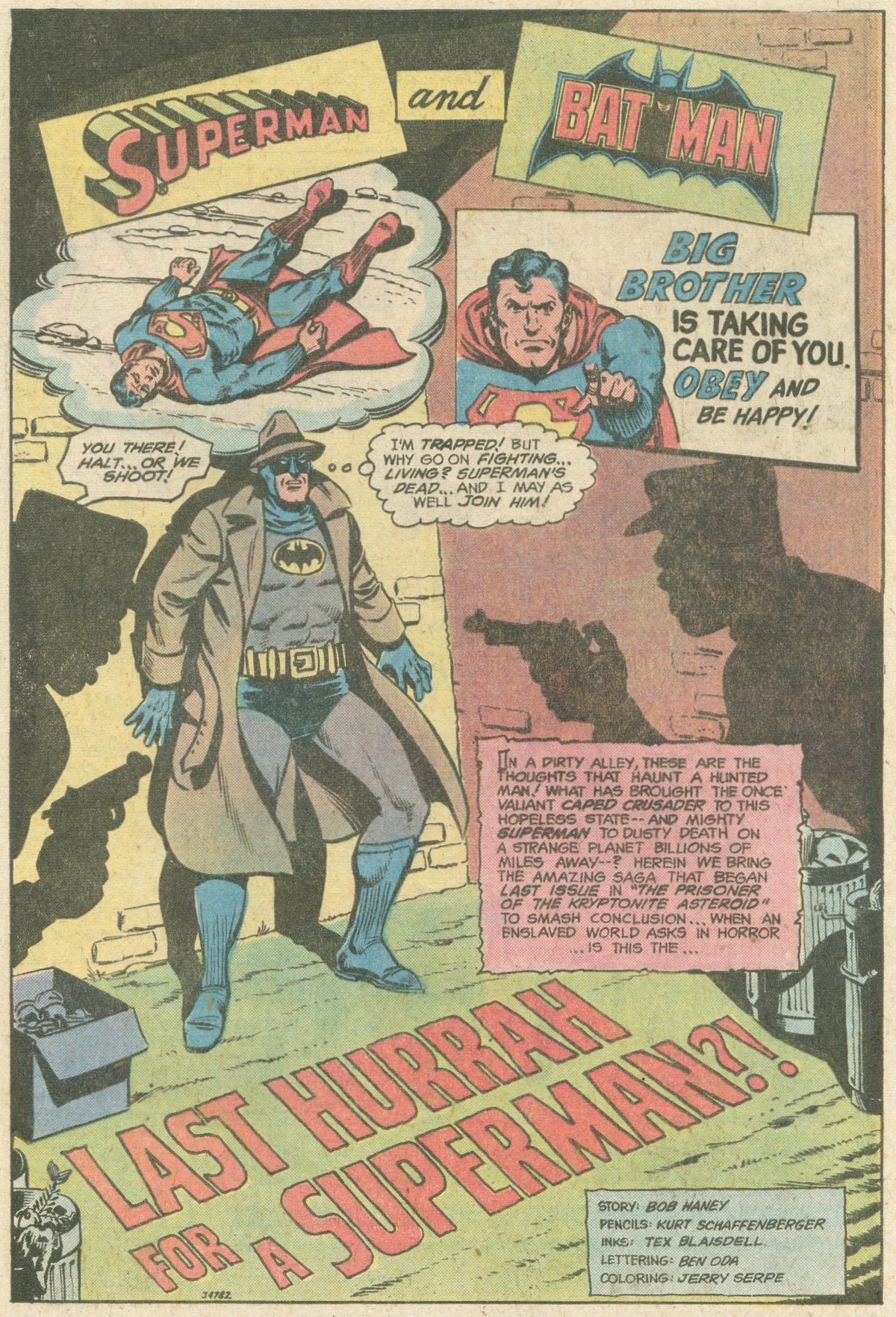 Read online World's Finest Comics comic -  Issue #247 - 4