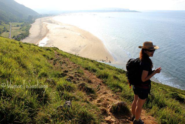 foto playa de trengandin en noja