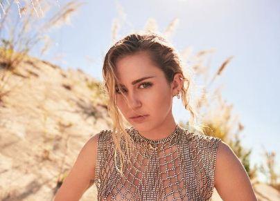 Miley Cyrus ने अधनंगी तस्वीरें शेयर करी, देखिये तस्वीरो को