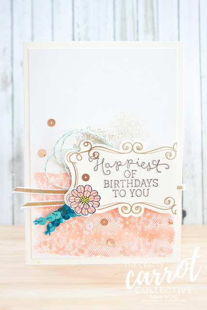 Touches of Texture - Susan Wong for The Crafty Carrot Co.