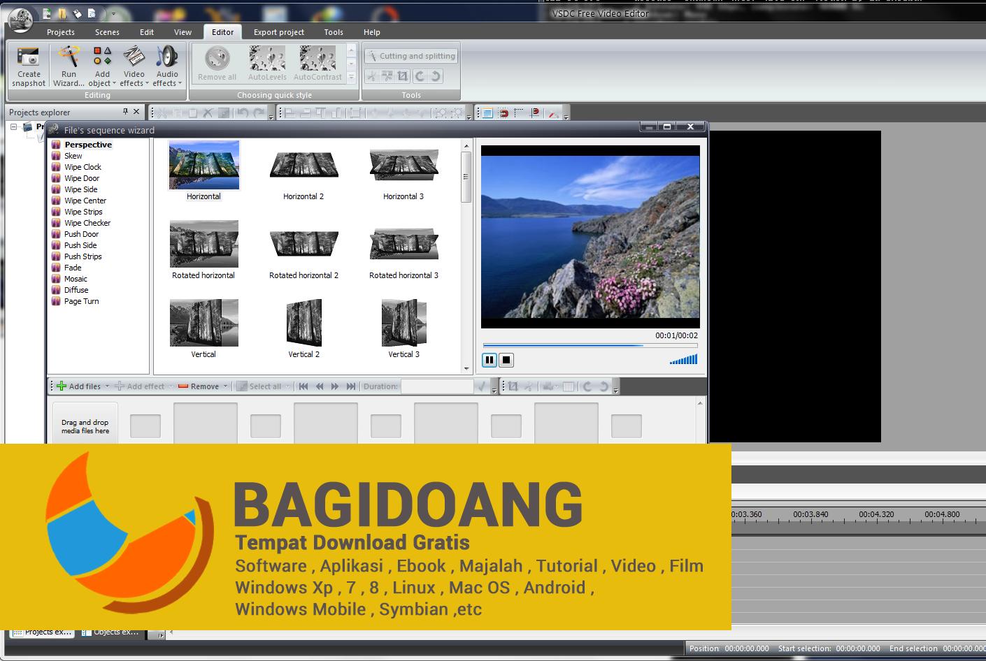Download Gratis VSDC Video Editor Software