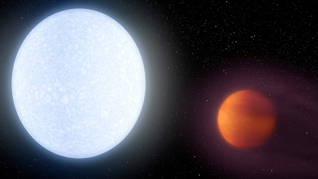 KELT-9b: Planet Hotter Than Most Stars