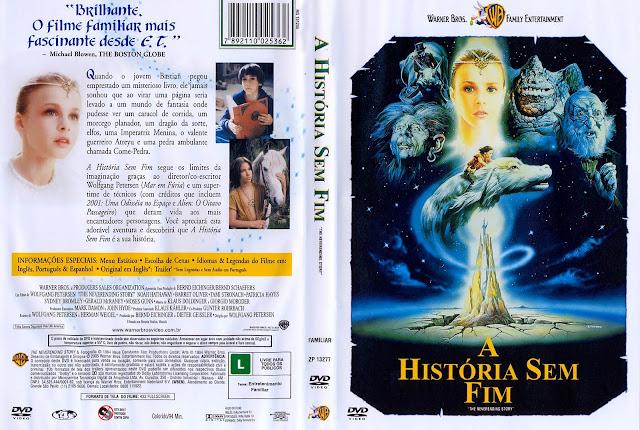 Capa DVD A História Sem Fim