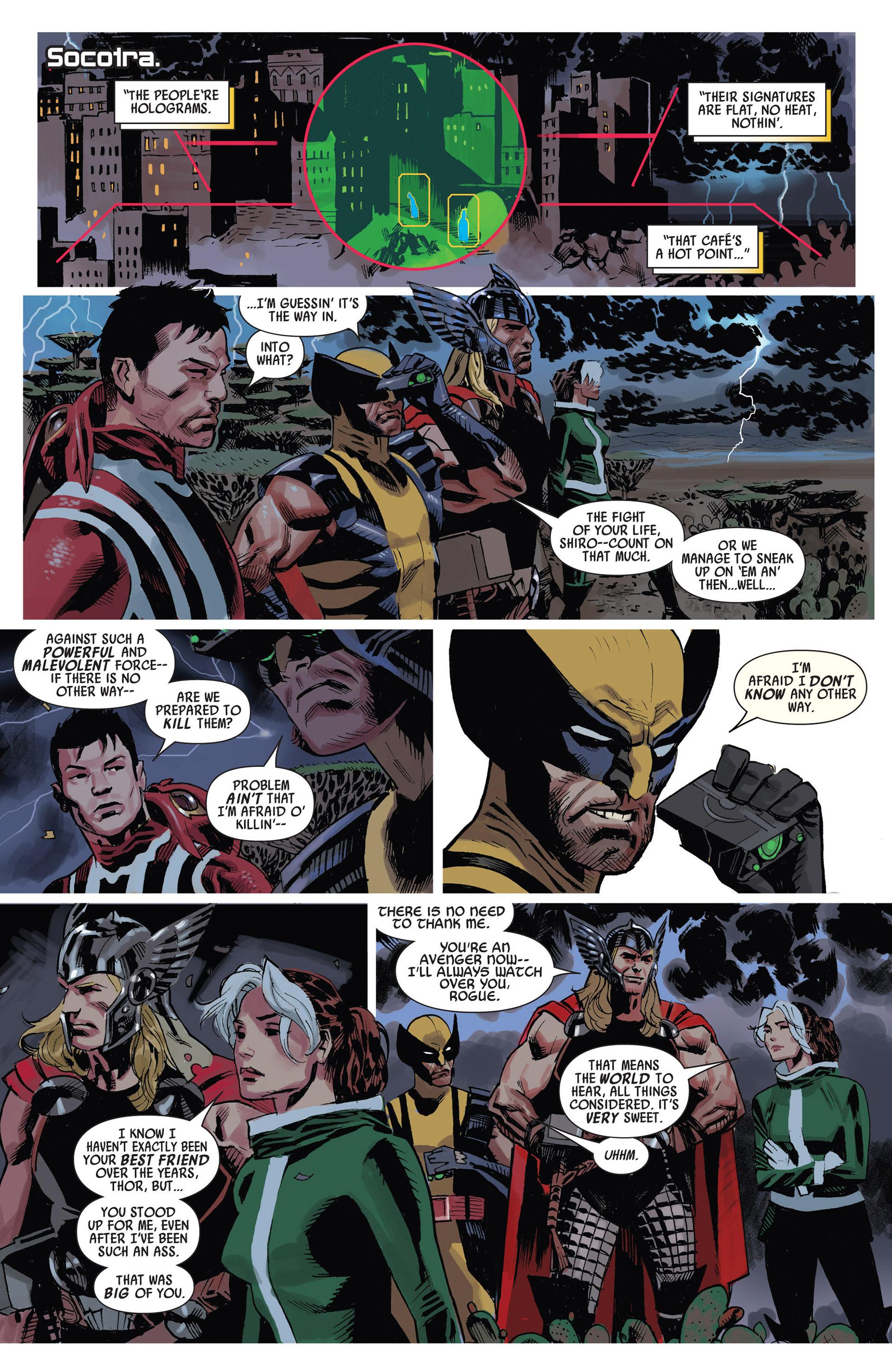 Read online Uncanny Avengers (2012) comic -  Issue #10 - 14