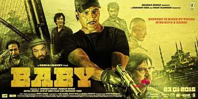 Baby (2015) Hindi Movie Download 300MB